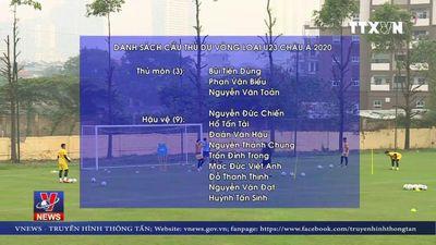 Việt Nam chốt danh sách dự vòng loại U23 châu Á