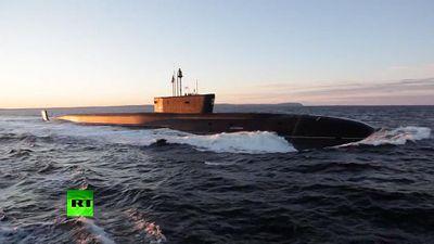 Nga bất ngờ tung clip về tàu ngầm uy lực nhất thế giới