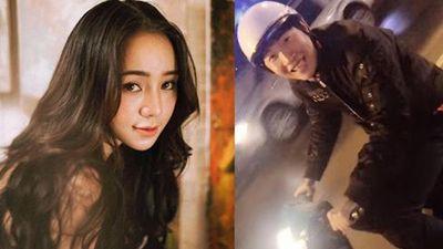 Hot girl Quỳnh Kool khiến người xem hoang mang khi đăng clip bị một fans nam rượt đuổi vì quá hâm mộ
