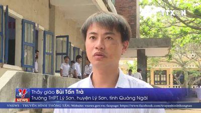 Trường THPT huyện Lý Sơn, tỉnh Quảng Ngãi trước nguy cơ đổ sập