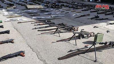 Quân đội Syria lại thu hoạch một kho vũ khí của 'nổi dậy' ở miền bắc Homs