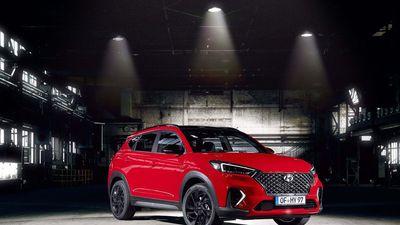 SUV 'hiệu suất cao' Hyundai Tucson N Line, không mạnh nhưng đẹp hơn
