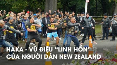 Điệu nhảy dữ dội đoàn kết người New Zealand sau vụ xả súng