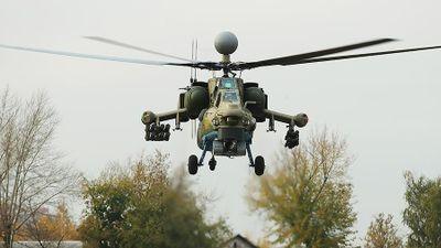 Mi-28 NM 'Thợ săn đêm' săn đuổi 'quân thánh chiến' ở Hama, Syria