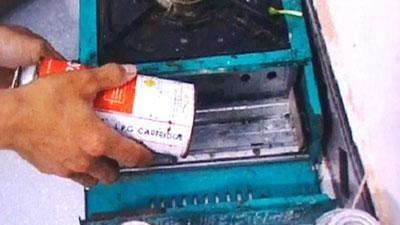 CLIP: Cảnh báo nguy hiểm từ những chiếc bình gas mini giá rẻ
