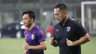 Sao U23 Thái Lan tập riêng trước trận gặp Việt Nam