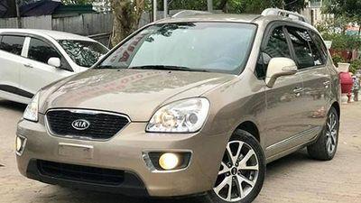 Cận cảnh Kia Carens 7 chỗ giá chỉ 400 triệu ở Hà Nội