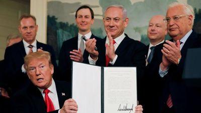 Mỹ lại bất chấp LHQ, chính thức công nhận cao nguyên Golan thuộc Israel