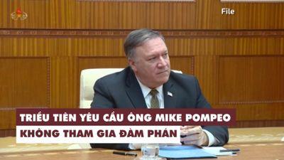 Triều Tiên yêu cầu ngoại trưởng Mỹ không tham gia đàm phán