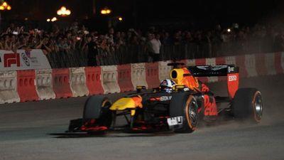 Xe F1 chính thức lăn bánh tại Hà Nội