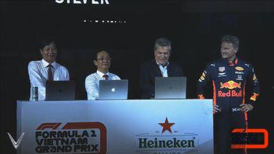 Khởi động giải đua F1 tại Hà Nội
