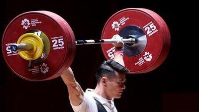 Thạch Kim Tuấn giành HCĐ cử giật tại giải châu Á