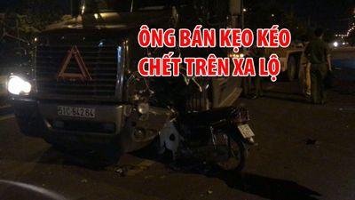 Người đàn ông bán kẹo kéo chết trên Xa lộ Hà Nội vì tai nạn