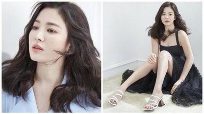 Hậu trường chụp ảnh xinh như nàng thơ đôi mươi của Song Hye Kyo