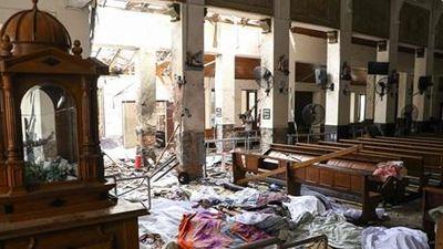 Video khoảnh khắc xảy ra vụ nổ tại nhà thờ St. Anthony ở Colombo