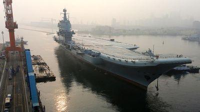 Trung Quốc đưa video thử nghiệm tàu sân bay Type 001A