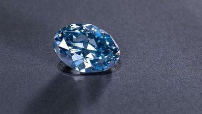 Tận mục kim cương xanh hoàn hảo bậc nhất thế giới