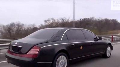 Lộ diện siêu xe của Kim Jong Un tại Nga
