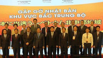 6 tỉnh Bắc Trung bộ thắt chặt hợp tác với Nhật Bản