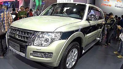 Xe SUV Mitsubishi Pajero sẽ bị dừng bán tại Nhật Bản