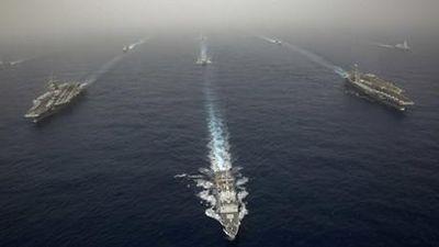 Mỹ gửi thông điệp cứng rắn tới Nga qua... hai tàu sân bay