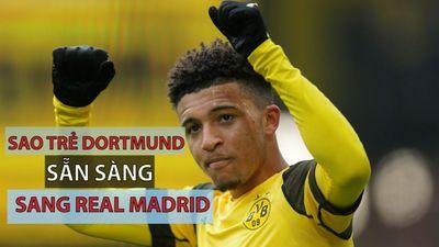 Tài năng trẻ Dortmund lọt vào danh sách chuyển nhượng của Zidane