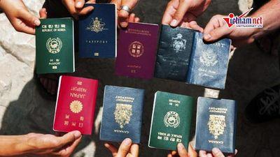 Vì sao hộ chiếu của các quốc gia trên thế giới chỉ mang 4 màu sắc?
