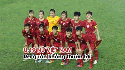 Nhận thẻ đỏ ngay trận đầu, U.19 nữ Việt Nam chia điểm với Iran