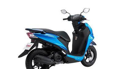 Ngắm xe Yamaha FreeGo màu xanh, giá 32,99 triệu ở Việt Nam