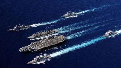 Điều cả nhóm tàu sân bay tập trận, Mỹ muốn 'cứng' với Iran?
