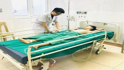Nghệ An: Cứu sống cháu bé bị vỡ gan phức tạp do tai nạn