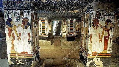 Ngôi mộ 3.200 năm tuổi nữ hoàng Ai Cập