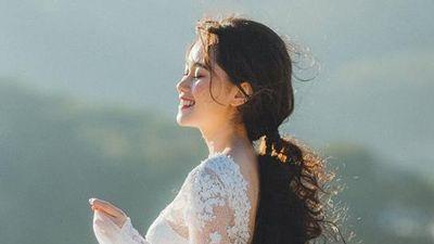 Cô dâu chú rể chen chúc chụp ảnh cưới ở đồi uyên ương Đà Lạt