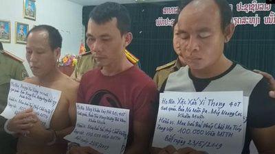 CLIP: Bắt giữ 3 đối tượng vận chuyển 100 nghìn viên ma túy vào Quảng Trị