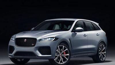 Jaguar F-Pace SVR: Công suất 550 mã lực, giá hơn 2 tỷ