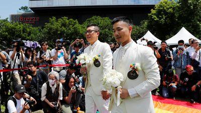 Hôn nhân đồng tính hợp pháp đầu tiên ở châu Á