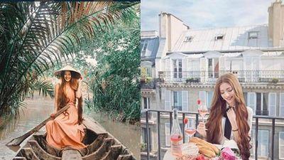 Bí quyết chăm sóc tóc dài mượt của công chúa tóc mây gốc Việt Sarah Trần