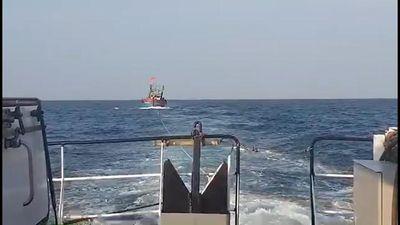 Cứu nạn thành công 1 tàu cá giữa thời tiết khắc nghiệt