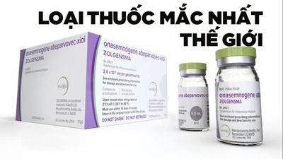 Giá thuốc mắc nhất thế giới: 2,1 triệu USD/ liều