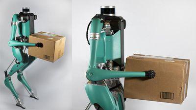 Khám phá robot hình nhân, giao hàng đến tận nhà của Ford