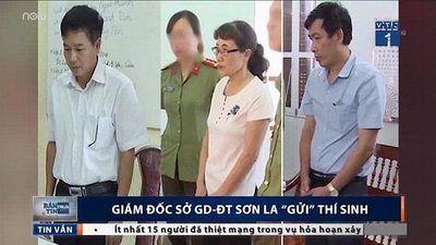 8 trong 13 thí sinh ở Sơn La được Giám đốc Sở GD&ĐT 'nhờ' nâng điểm