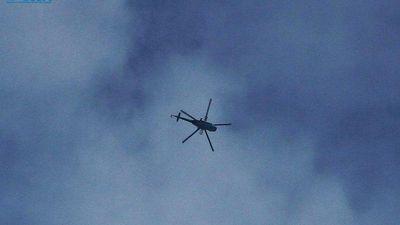 Trực thăng không quân Syria thả bom FAB phá tan căn cứ phiến quân ở Idlib