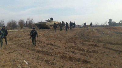 Sư đoàn 'Hổ Syria' tái chiếm lại thị trấn chiến lược Kafr Naboudeh, miền bắc Hama