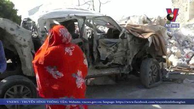 Đánh bom gây thương vong lớn ở thủ đô Somali