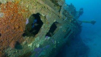 'Mộ phần' dưới đáy biển lộ diện sau 1 thế kỷ