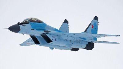 Cận cảnh bộ đôi tiêm kích MiG-35 tối tân đầu tiên của Không quân Nga
