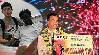 Cầu thủ nước ngoài đầu tiên đăng quang Fair Play bóng đá Việt