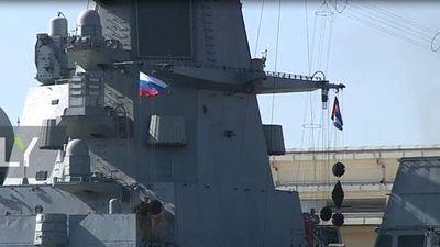 CLIP: Tàu chiến Nga Thăm Cuba khiến Mỹ lo sốt vó