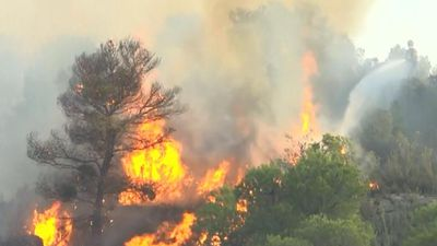 Cháy lớn khủng khiếp đe dọa 20.000 ha rừng ở Tây Ban Nha
