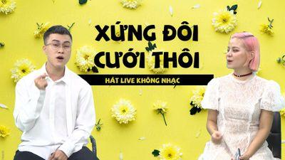 'Xứng đôi cưới thôi' qua giọng hát live cực ngọt của Lê Thiện Hiếu - Tia Hải Châu